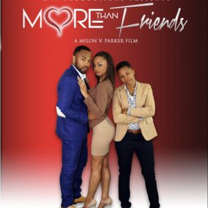 More Than Friends DVD Movie Cover Milon V Parker